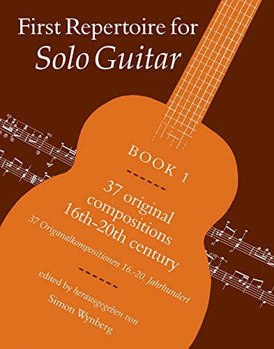 9780571507092: First Repertoire for Solo Guitar, Bk 1 (Faber Edition)