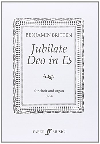 9780571507245: Jubilate Deo: SATB (with Organ), Choral Octavo (Faber Edition)