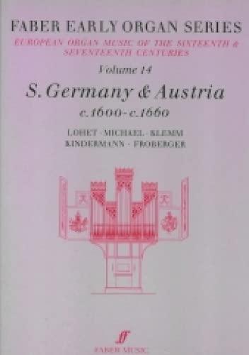 Germany 1600-1660: v. 14 (Early Organ Series)