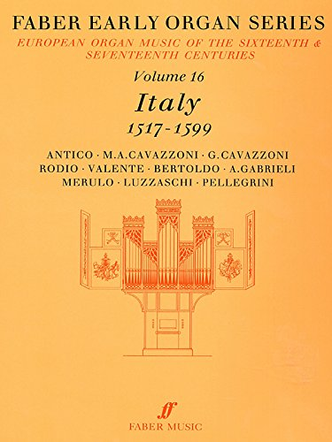 Faber Early Organ Series, Volume 16 Format: Ed. James Dalton