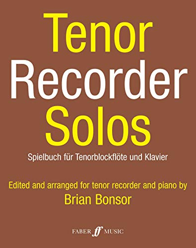9780571508402: Tenor Recorder Solos: Parts (Faber Edition)
