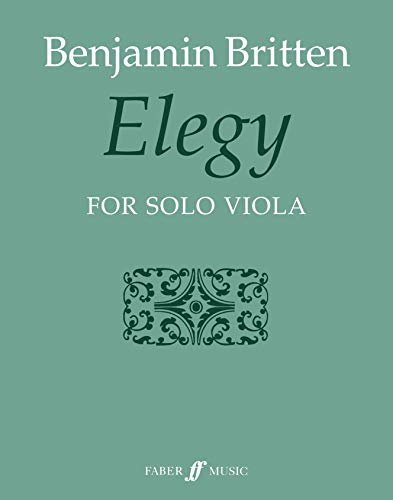 9780571508839: Elegy: For Solo Viola