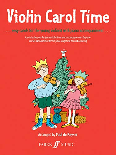 9780571508914: Violin Carol Time: Easy Carols for the Young Violinist (Faber Edition)