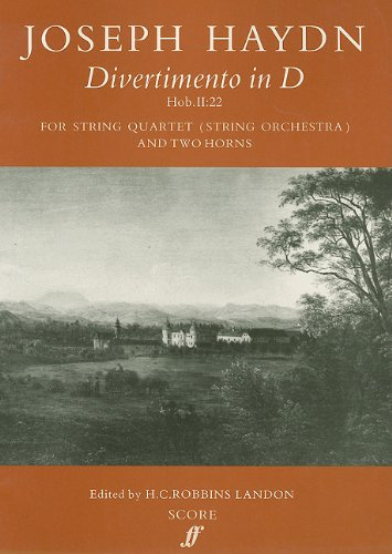 9780571509195: Divertimento in D: Score (Faber Edition)