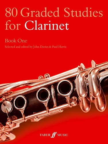 80 Graded Studies for Clarinet: Bk. 1