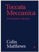 Toccata Meccanica: (Score) (Paperback)
