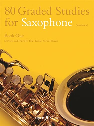 9780571510474: 80 Graded Studies for Saxophone, Book 1