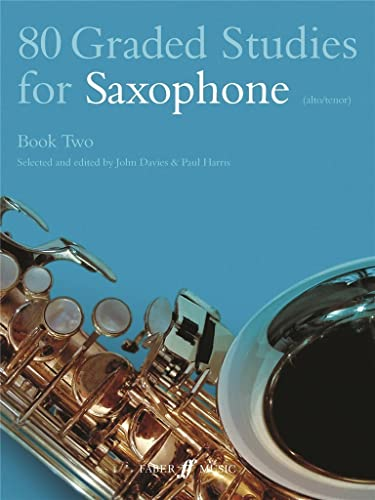 9780571510481: 80 Graded Studies for Saxophone, Bk 2 (Faber Edition)