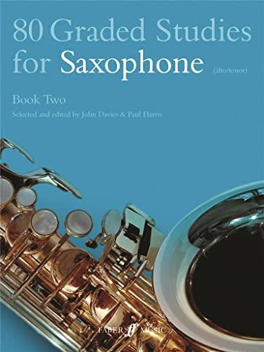 9780571510481: 80 Graded Studies for Saxophone, Bk 2 (Faber Edition)