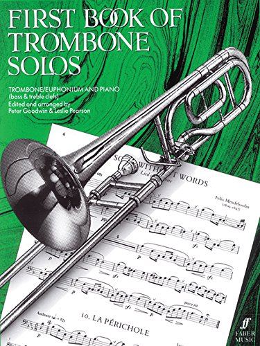 9780571510832: First Book of Trombone Solos