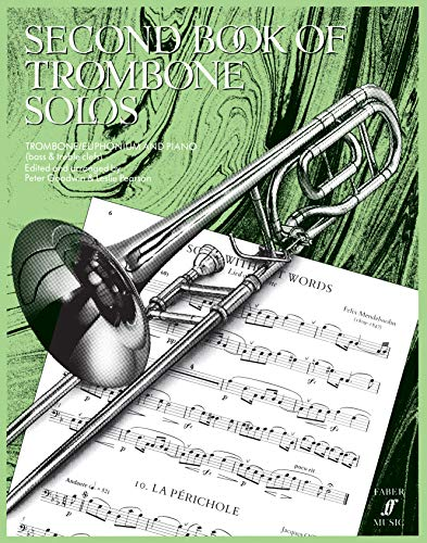 9780571510849: Second Book of Trombone Solos (Faber Edition)