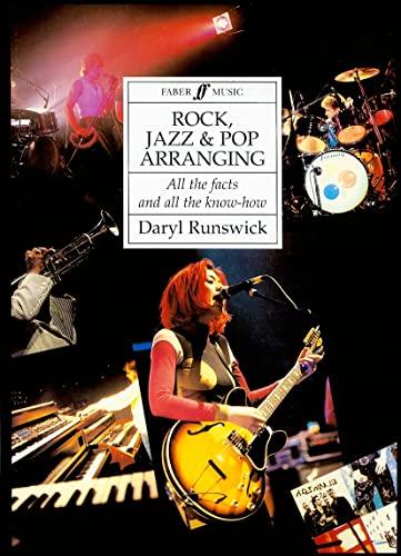 9780571511082: Rock, Jazz and Pop Arranging: Paperback Book (Faber Edition)
