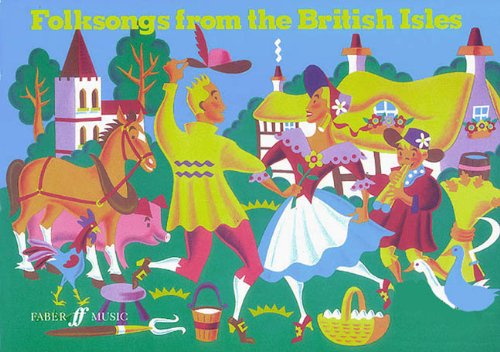 9780571511198: Folksongs from the British Isles: Song Collection