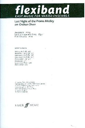 9780571511822: Last night of the Proms medley (BBC Flexiband : easy music for varied ensemble)