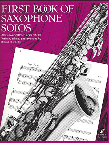 9780571512225: First Book of Saxophone Solos. Altsaxophon, Klavier