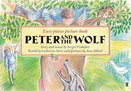9780571512409: Peter and the Wolf (Easy Piano Picture Book Series)