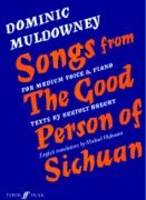 9780571512768: Songs from the Good Person of Sichuan
