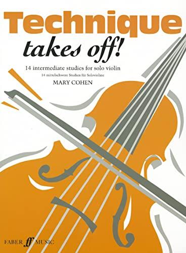 9780571513079: Technique Takes Off!: 14 Intermediate Studies for Solo Violin