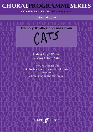 9780571513185: Memory & other choruses from Cats (Choral programme series)