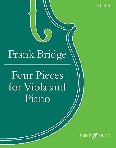 9780571513277: Four Pieces for Viola and Piano: Score & Part (Faber Edition)