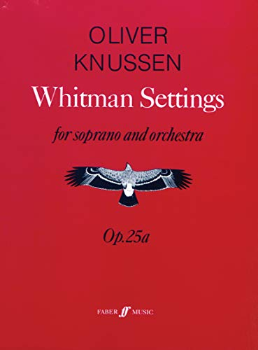 9780571514106: Whitman Settings: (Score) (Faber Edition)