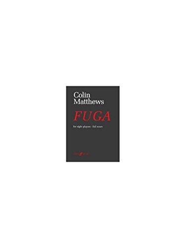 9780571514380: Fuga: (Score) (Faber Edition)