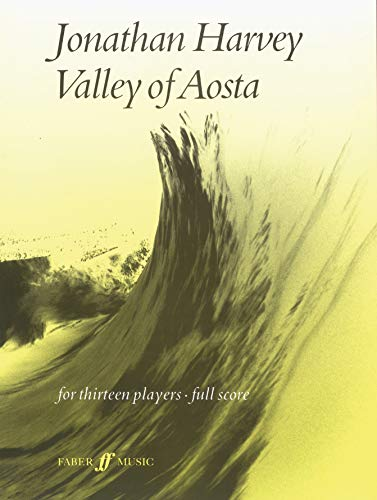 Valley of Aosta: (Score) (Paperback)