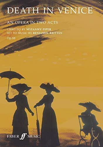 9780571514533: Death in Venice: Libretto (Faber Edition)