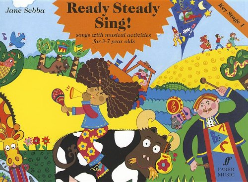 9780571514977: Ready Steady Sing! Key Stage 1: Songs with Musical Activities for 3-7 Year Olds: (Songbook) (Faber Edition)