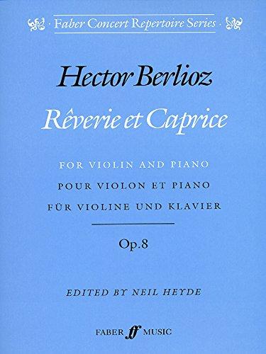 9780571515103: Reverie et Caprice: Parts (Faber Edition)