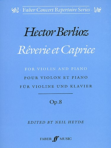 9780571515103: Reverie et Caprice: (Violin and Piano) (Faber concert repertoire series)