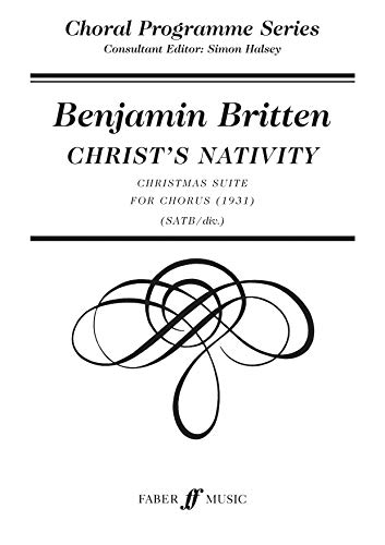 9780571515134: Christ's Nativity: SATB, a cappella (Faber Edition: Choral Programme Series)