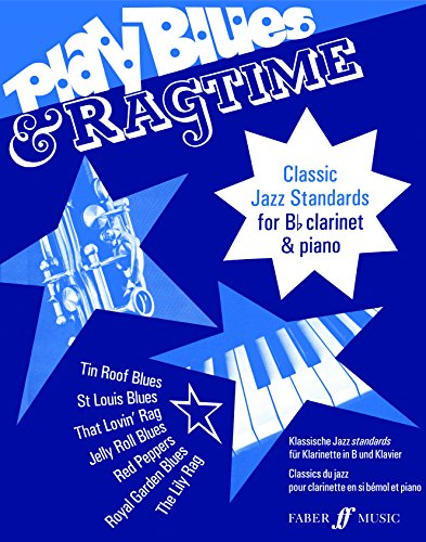 9780571515585: Play Blues and Ragtime - Clarinet and Piano