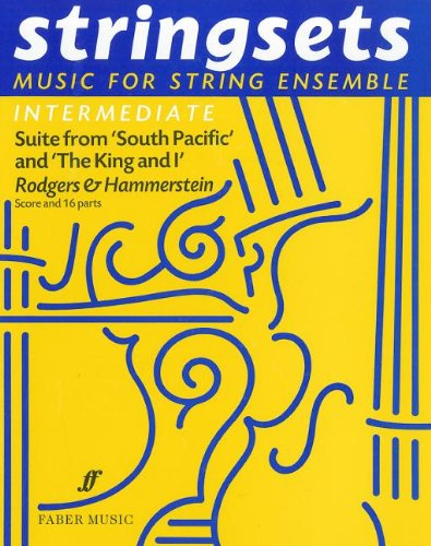 9780571515929: South Pacific and King and I: Stringsets (score and Parts) (Faber Edition: Stringsets)