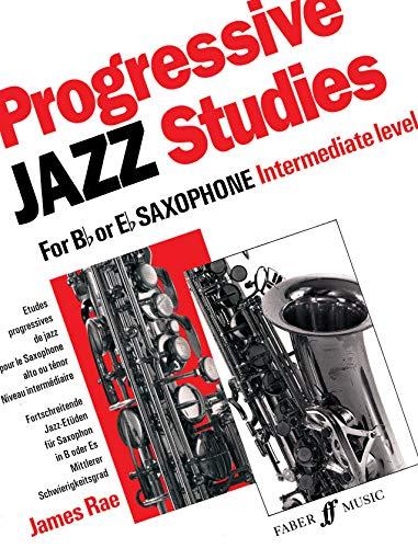 9780571516599: Progressive Jazz Studies for B-flat or E-flat Saxophone, Bk 2 (Faber Edition)