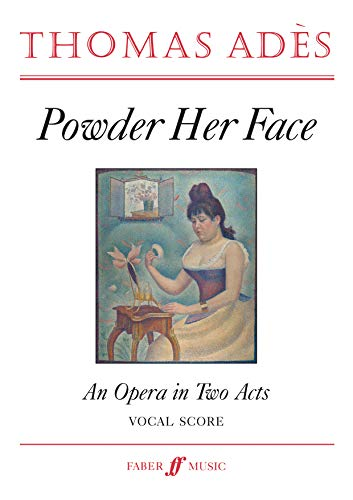 9780571517305: Powder Her Face: (Vocal Score)