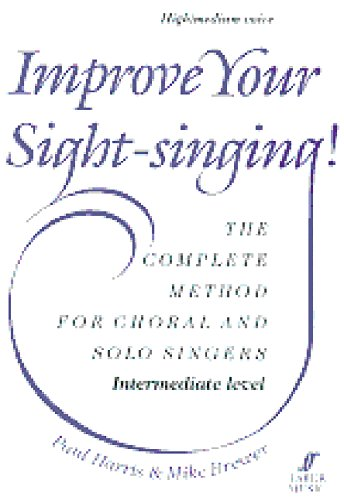 9780571517688: Improve Your Sight-singing!: Intermediate High/Medium Voice