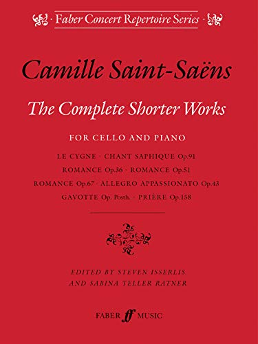 9780571518074: The Complete Shorter Works for Cello & Piano (Faber Edition)