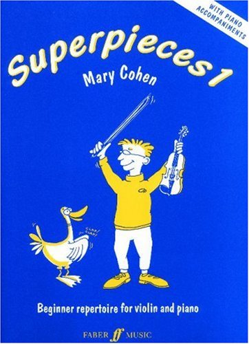 9780571518692: Superpieces 1 Vn/Pno Beginner Repertoire: (Violin and Piano): Bk. 1