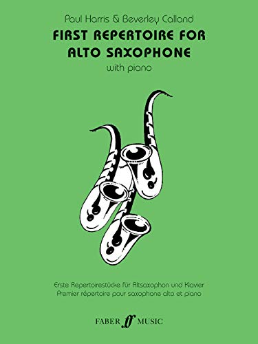 9780571519033: First Repertoire for Alto Saxophone: With Piano