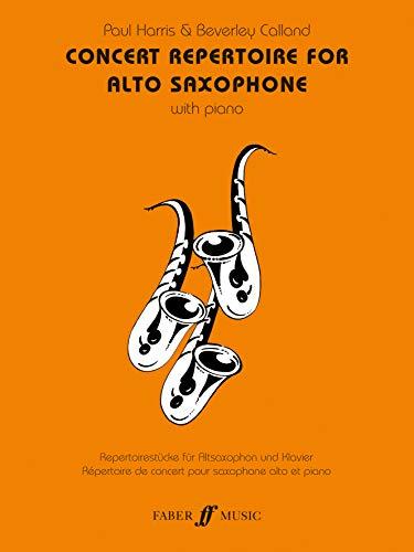 9780571519040: Concert Repertoire for Alto Saxophone (Faber Edition: Concert Repertoire)