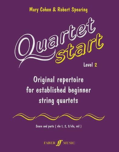 9780571519439: Quartet Start - Level 2: Original Repertoire for Established Beginner String Quartets [With Score and Parts]