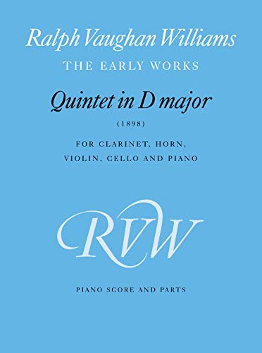 Quintet in D Major: Score & Parts (Faber Edition)