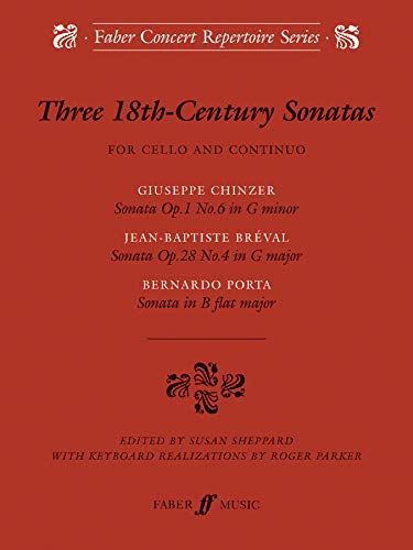 9780571520596: Three 18th Century Sonatas (Faber Edition)