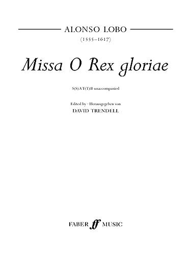 Missa O Rex Gloria: SATB, a cappella: Alfred Publishing Staff