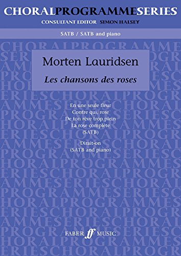 9780571521296: Les Chansons des Roses: SATB (Choral Programme Series) (English and French Edition)