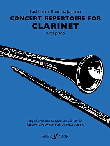 9780571521661: Concert Repertoire for Clarinet (Faber Edition: Concert Repertoire)