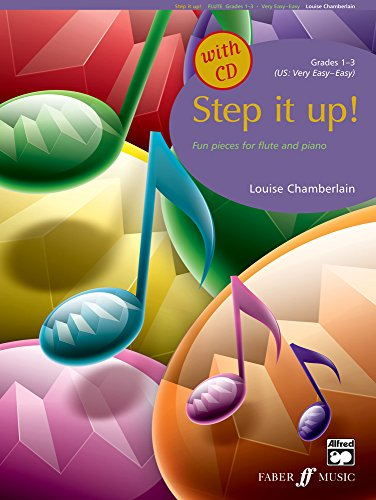 9780571521708: Step It Up! Flute 1-3 Book & CD