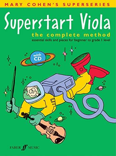 9780571522132: Superstart Viola: The Complete Method, Book & CD (Faber Edition: Superstart)