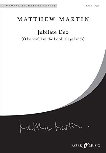 Jubilate Deo: Satb With Organ, Choral Octavo